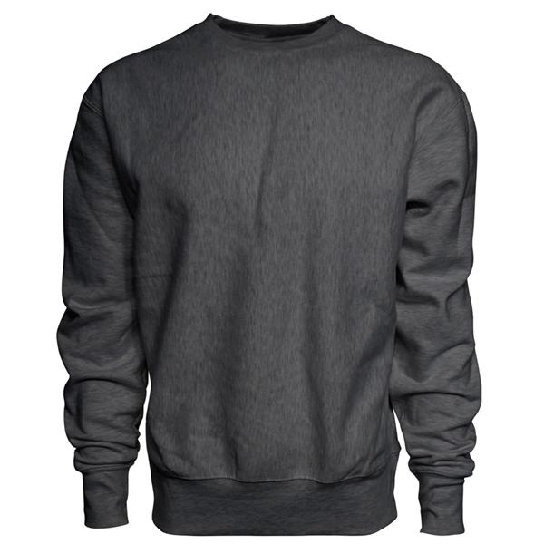 J America Adult Sport Weave Crew Neck Sweatshirt