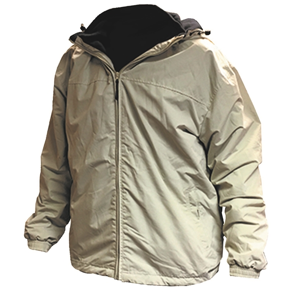 Youth Water Resistant Outerwear Jacket w/Detachable Hood