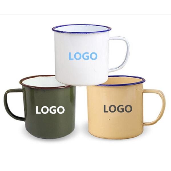 White Enamel Mug,Tin Mug