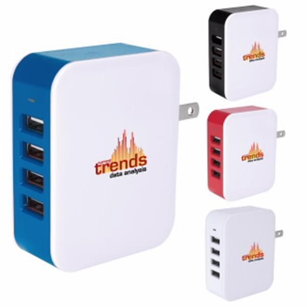 Good Value® 4-Port USB Wall Adapter