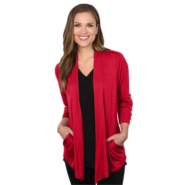 Women's 3/4 Sleeve Knit Cardigan