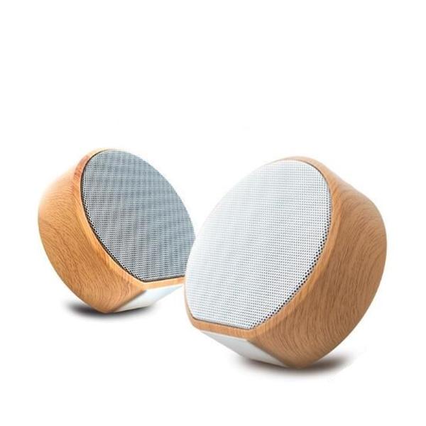 Wood Grain Bluetooth Mini Speaker