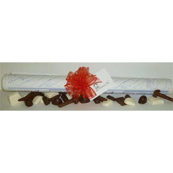 Architect Tube Of Themed Chocolates