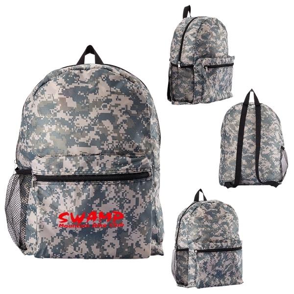 Digital Camouflage Backpack