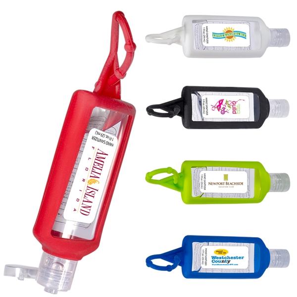 1 oz. Sanitizer w/ Silicone Holder