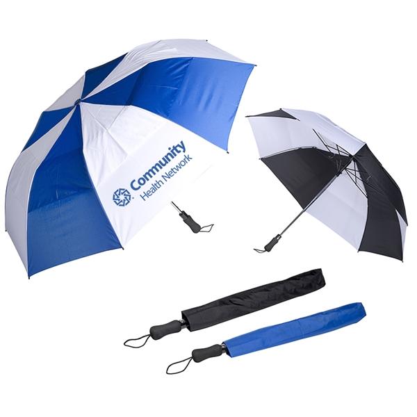 Vented Auto Open Golf Umbrella - 58