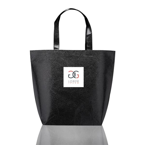 New Castle Non-woven Metallic Tote Bags