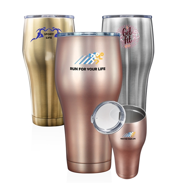 30 oz. Colossal Stainless Steel Tumbler