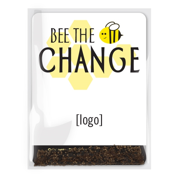 Save The Bees Pollinator Seed Packet