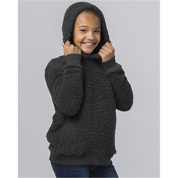 Boxercraft Youth Sherpa Hooded Pillover
