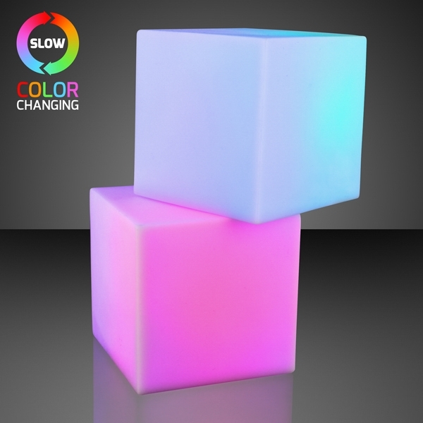 "2.75"" Light Deco Cube with Color Change LEDs"