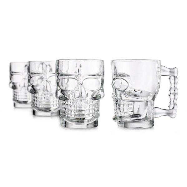 Skull Glassware Mug