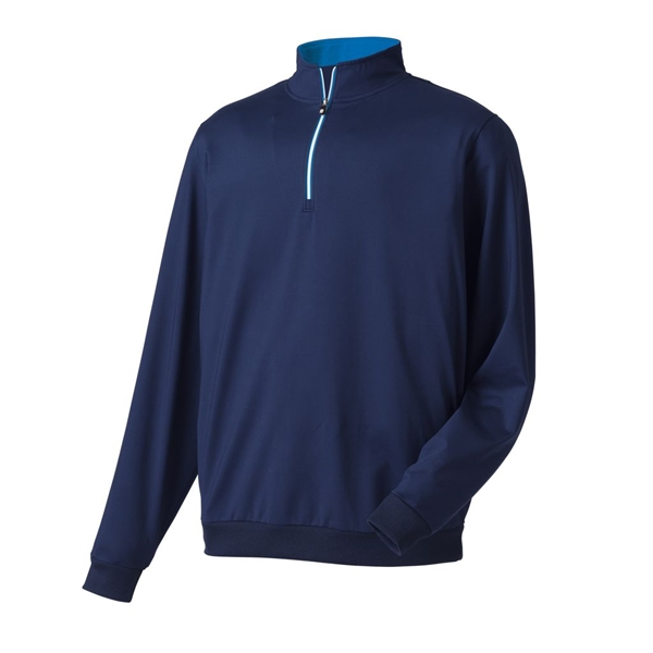 Performance Half-Zip Pullover With Gathered Waist