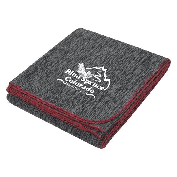 Color Splash Heathered Blanket