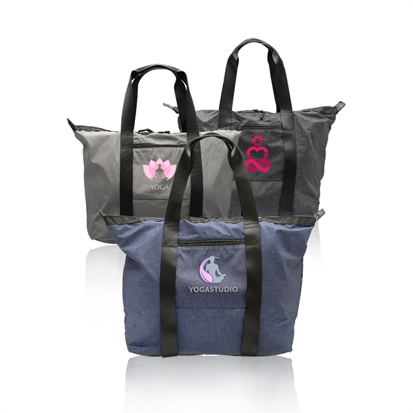 Serenity Tote Bag with Yoga Mat Carrying