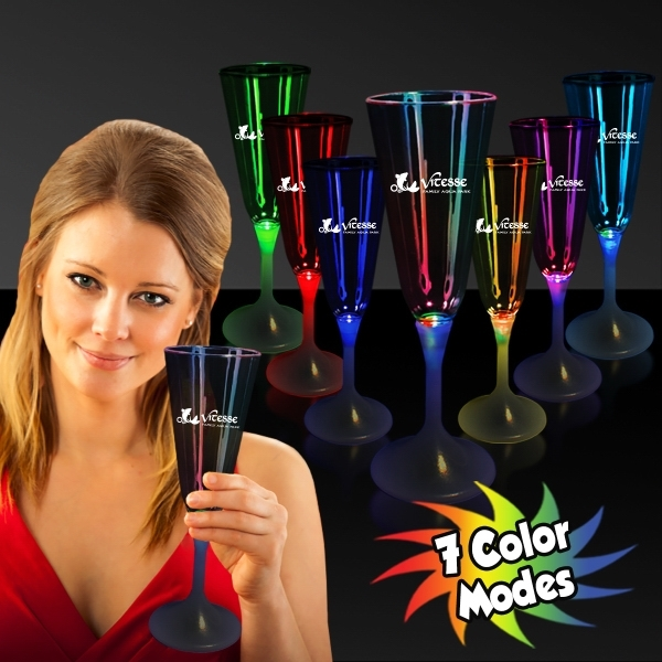 7 1/2 oz. Lighted Glow Champagne Flute