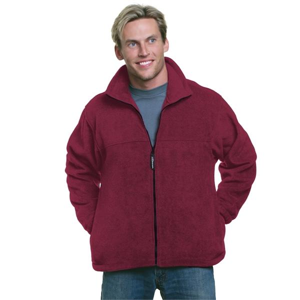 Bayside Unisex Full-Zip Polar Fleece Jacket
