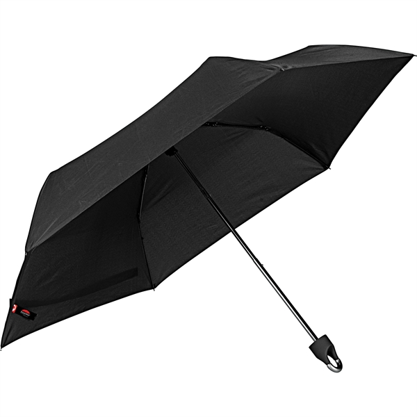 "42"" Carabiner Clip 3-Section Folding Umbrella"