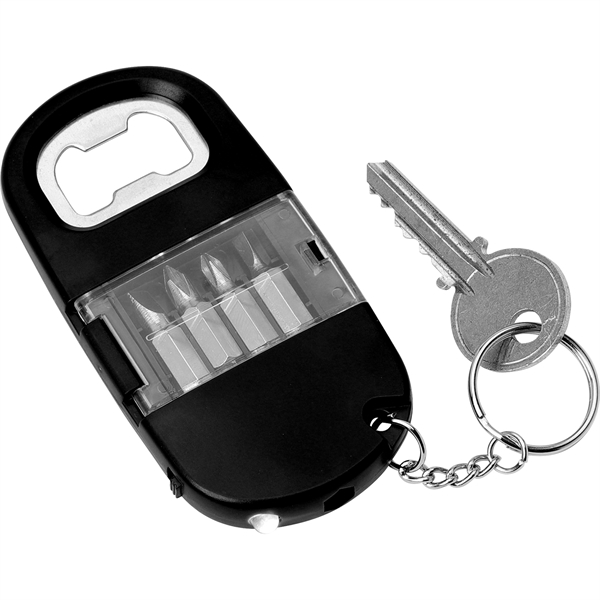 Screwdriver Set with Light and Opener