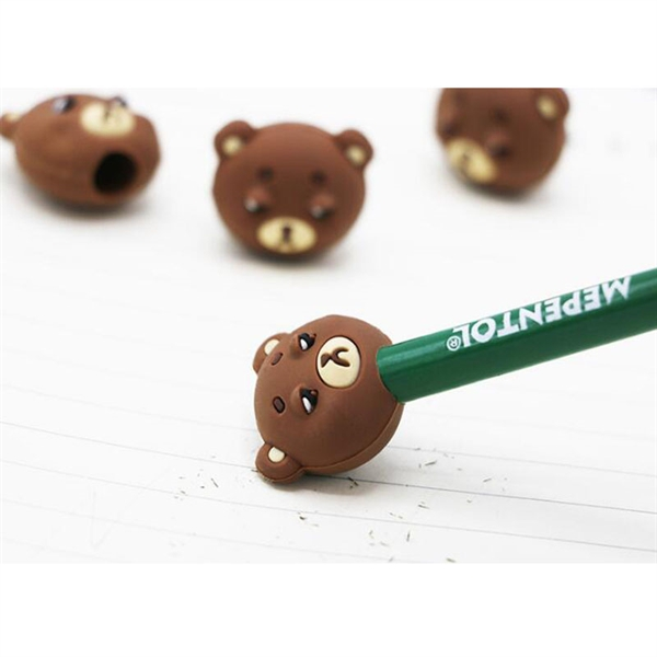 Custom Rubber Pencil Top Eraser Students Stationery School S