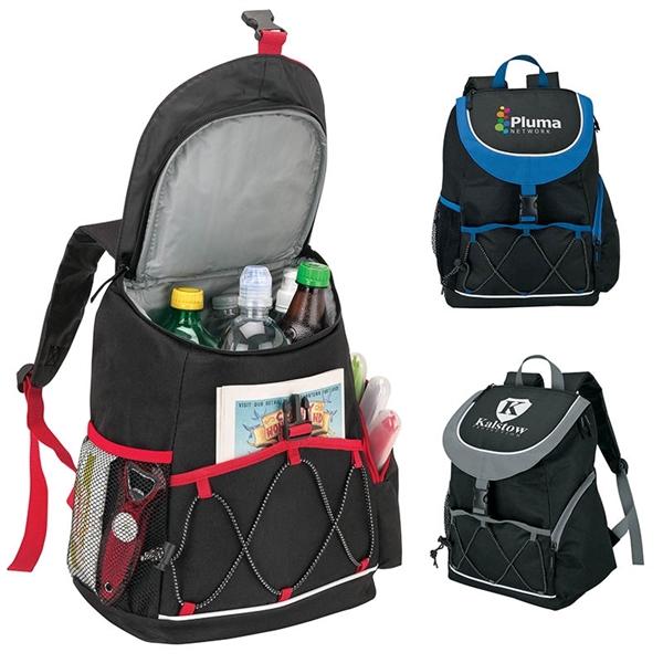 Adelene PEVA Lined Backpack Cooler - Adelene PEVA Lined Backpack Cooler