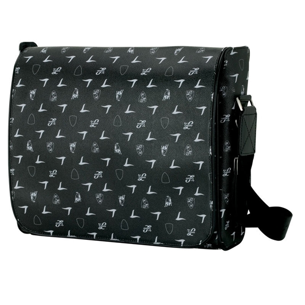Black Lamborghini Shoulder Bag