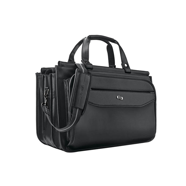 Solo® Harrison Triple Compartment Briefcase