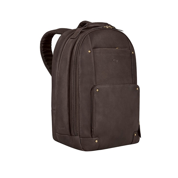 Solo® Reade Leather Backpack