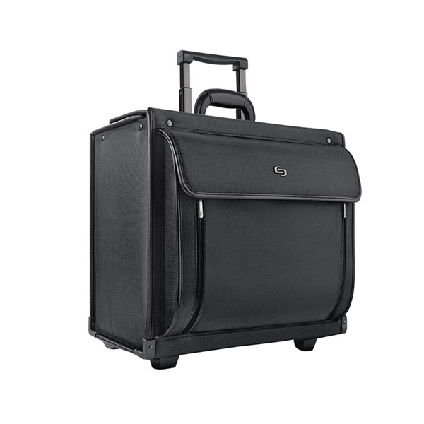 Solo® Herald Rolling Catalog Hard Case