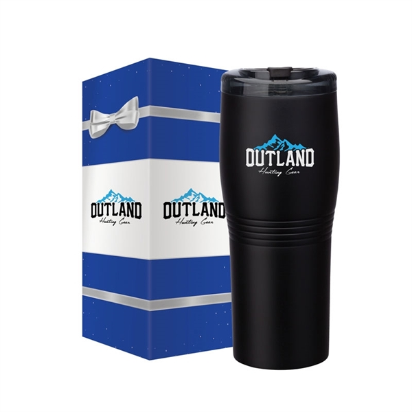 Misty 20 oz. Double Wall Stainless Steel Tumbler & Packaging