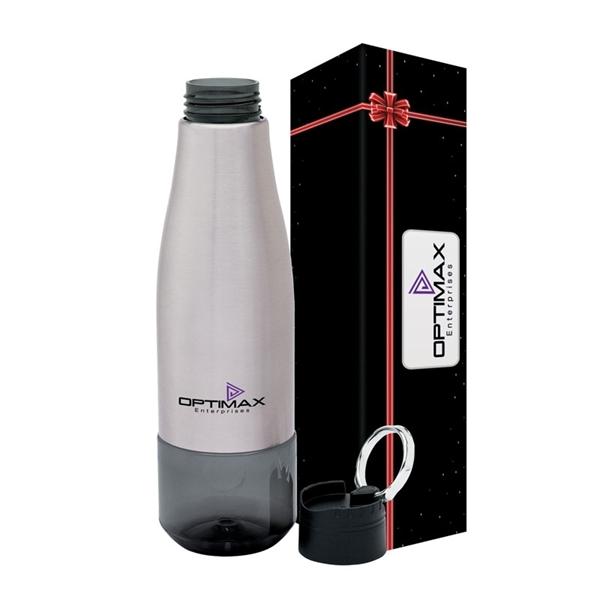 Luxe 26 oz. Tritan™ Water Bottle & Packaging