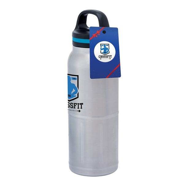 iCOOL Great Odin 40 oz. Stainless Steel Vacuum Water Bott...
