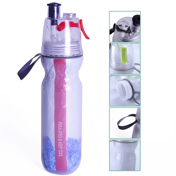 Sports Spray Mist water Bottle