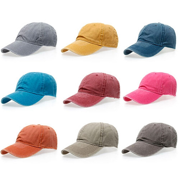 Cotton Twill Washed Cap