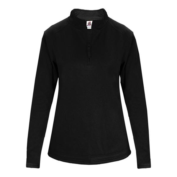 Badger Women's Quarter-Zip Poly Fleece P