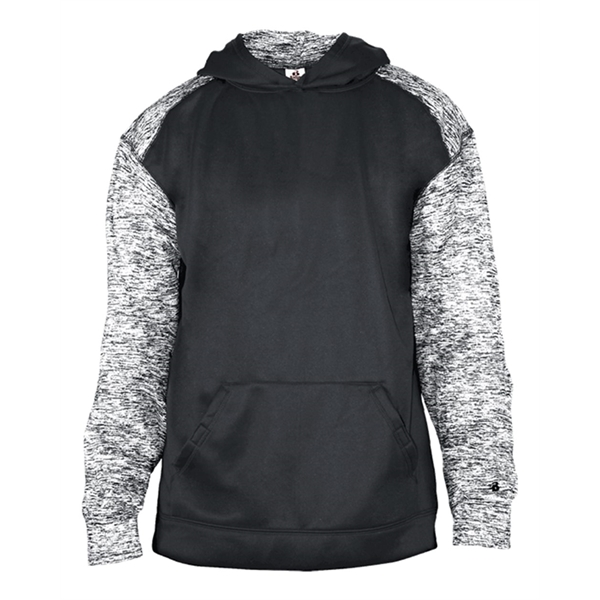Badger Youth Sport Blend Hooded Sweatshirt