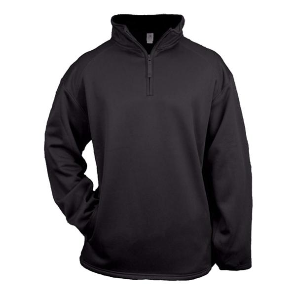 Badger Youth Quarter Zip Poly Fleece Pullover