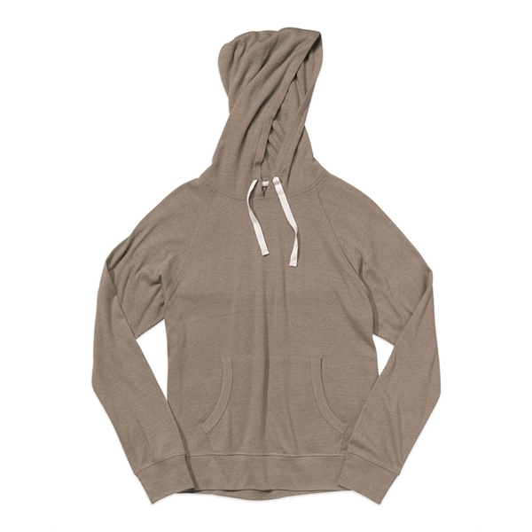 MV Sport Heather Hooded Long Sleeve T-Shirt