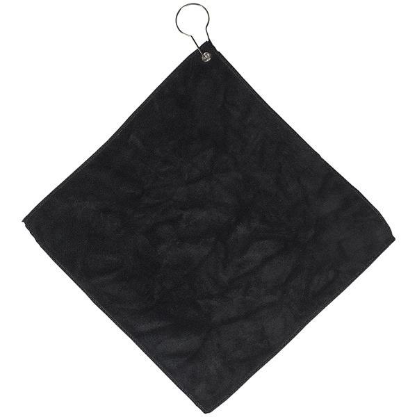 Microfiber Golf Towel w/ Grommet and Hook
