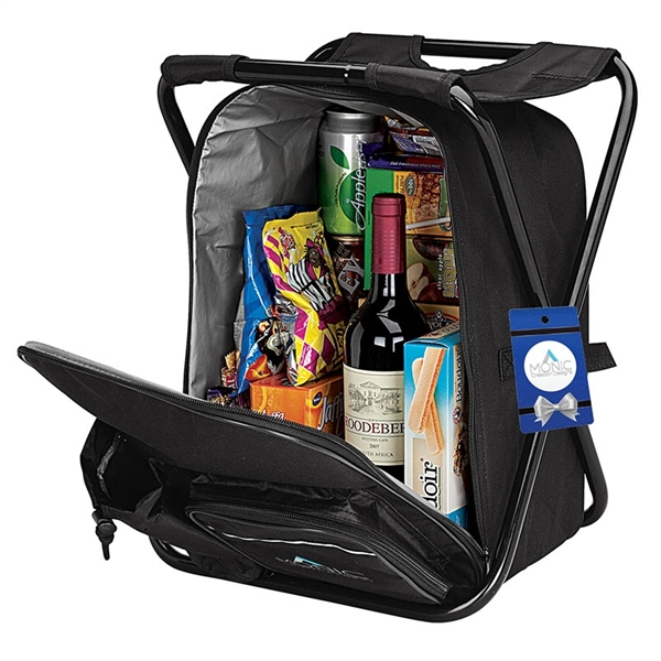 Remington Cooler Backpack Chair & Hangtag