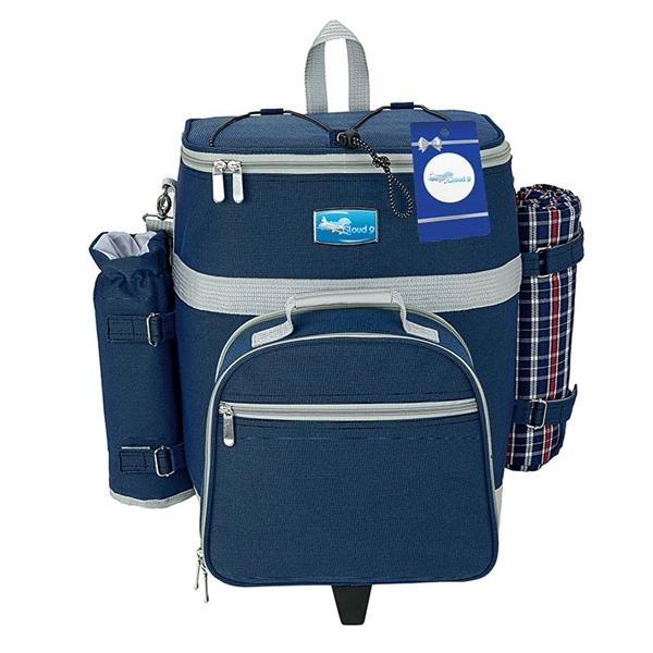 Haywood 4 Person Trolley Picnic Bag & Hangtag