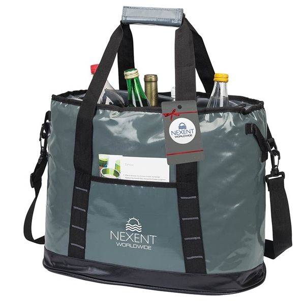 Glacier Cooler Bag & Hangtag