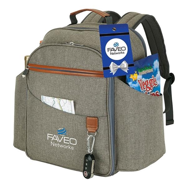 Carlsbad Picnic Set & Cooler Backpack & Hangtag