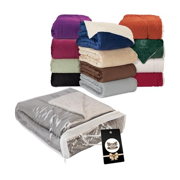 Fairwood Oversize Sherpa Blanket & Hangtag