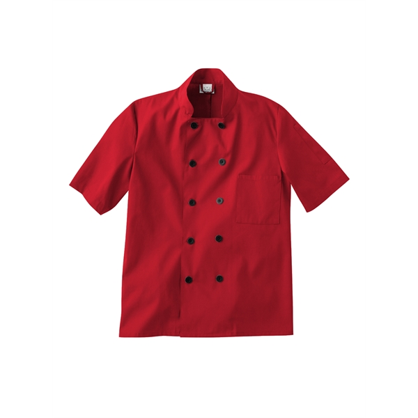 Five Star Chef Apparel Short Sleeve Chef Jacket