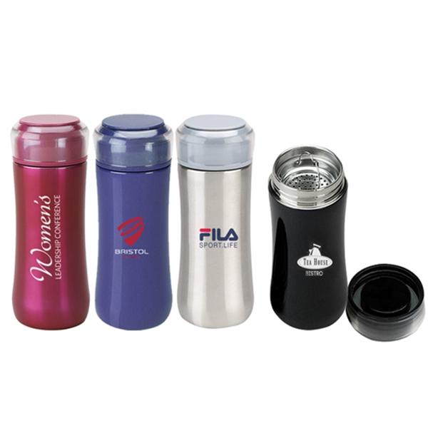 Vacuum Flask With Tea Strainer