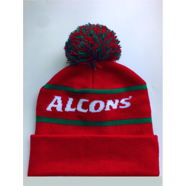 Embroidered Promotional Knitted Beanie