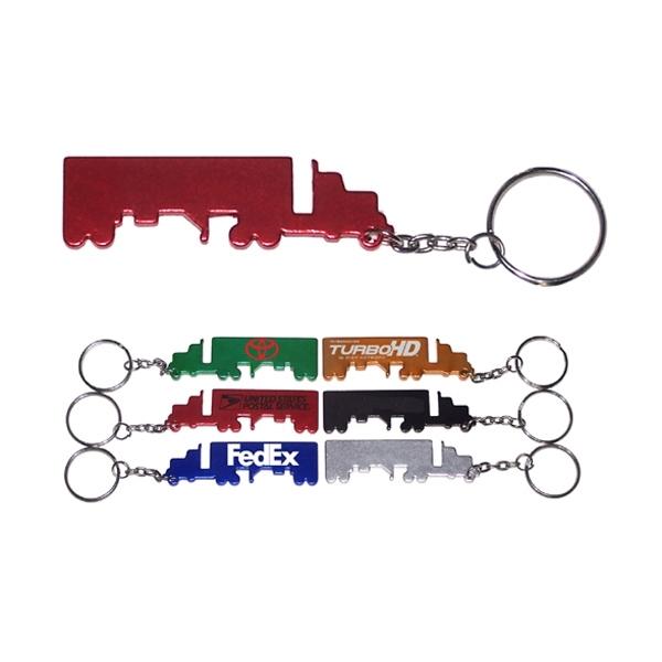 Truck shape keychain