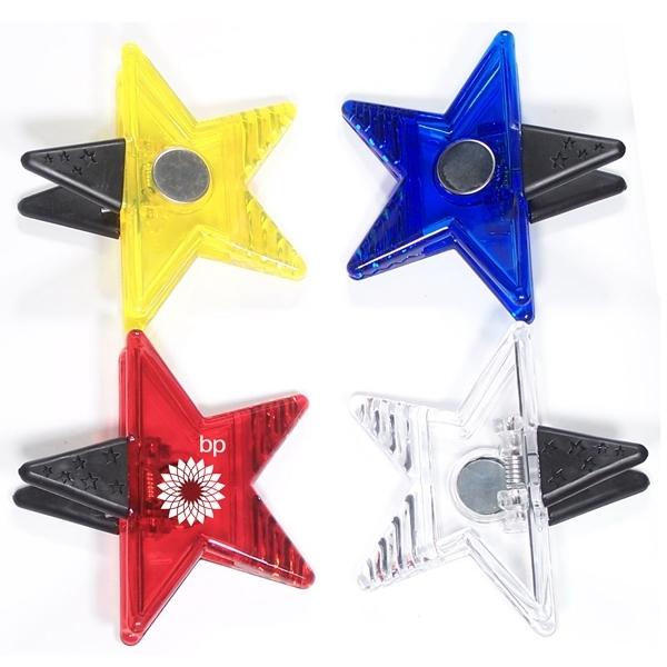 Jumbo size star shape memo clip