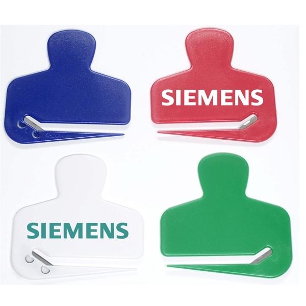 Jumbo size figure shaped letter opener